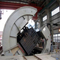 سكك الحديد نقل يميل ونوع فحم يفرش أداة