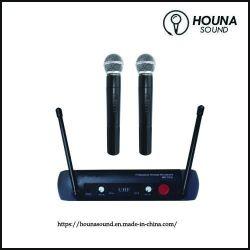 2 de Draadloze UHFMicrofoon van het kanaal