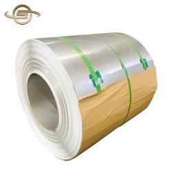 2b Surface Film PVC SS304 Tisco bobine en acier inoxydable