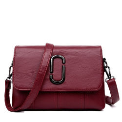 Trava de metal de bolsas femininas simples Crossbody bag para o MOM