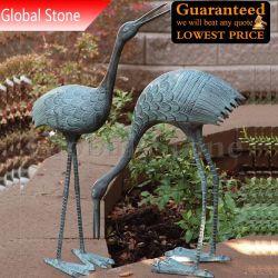 Jardin Animaux statue en bronze sculpture Flamingo Bird (GSBR-142)