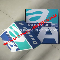 Un doble papel de 70g/80g papel A4 papel de fotocopiadora Papel de copia de la blancura 104-106 El Papel de oficina