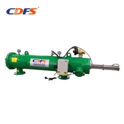 120 Mesh/130ミクロンの水平の自動後流の灌漑用水フィルター