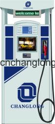 Bico único dispensador de combustível para a estação de gás