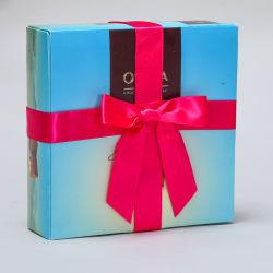 Cinta de satén Pre-Made Arco elástica con lazo de estiramiento, 100% poliéster de embalaje de regalo de la cinta de embalaje arco