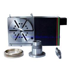CNC 기계 센터 4 축선 Dia. 250mm 의 NC 회전하는 테이블