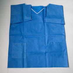 L'infermiera non tessuta di lavaggio del tessuto degli indumenti di fissione dell'acqua può essere lavata