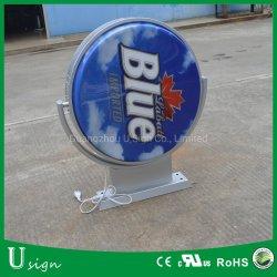 La bière /Coffice Boutique LED de signalisation de l'acrylique Pop up boîte à lumière