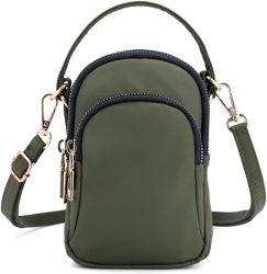 Collsants Celular na Bolsa pequena Crossbody Bag Suporte telefônico da carteira do smartphone para mulheres jovens