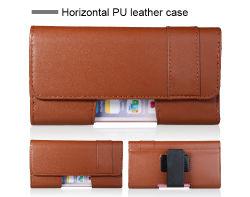 iPhone x Plus를 위한 Phone 보편적인 Sleeve Wallet PU Leather Belt Loop Case Holster Carrying Bag