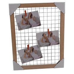 Het creatieve Frame van het Memorandum van het Ontwerp Houten om Foto/Nota/Document te houden