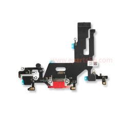 porta de carregamento cabo flexível para iPhone 11 Red AAA+ Grau