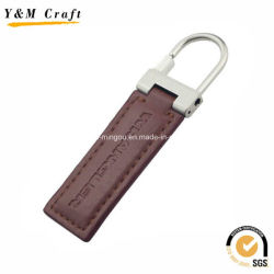 Design de Imprensa quente PU Leather Keyring grossista YM1046