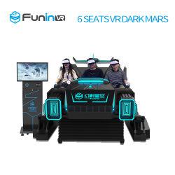 Funin Vr 6 Simulator Zes van de Bioskoop van Zetels 9d Zetels voor Sporten & Vermaak