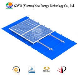 Parentesi solare d'acciaio della lega di alluminio delle mattonelle (tetto del metallo)