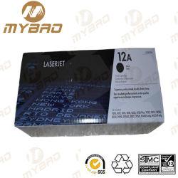 Q2612A 12A оригинальный картридж с тонером черного картриджа для принтеров HP 12A тонера