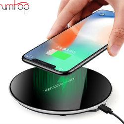 Зарядное устройство для беспроводной связи стандарта Qi Samsung Galaxy S9 S8 плюс наружного зеркала заднего вида зарядное док-панели базовой станции USB зарядное устройство для iPhone 8 X Xs Max Xr
