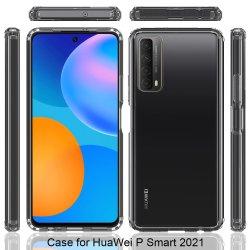 Crystal Clear Anti rayado para Huawei Mate acrílico PRO 40 casos por teléfono Huawei P Smart 2021