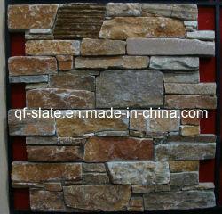 La alta calidad P014 de color amarillo dorado/cemento cemento de la pizarra de pared de piedra piedra