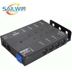 Audio amplificatore di potere della fase dell'indicatore luminoso di mini karaoke professionale delle 8 Manica