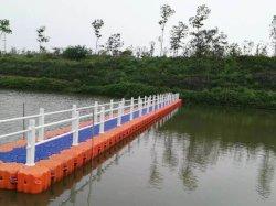 Modulaire drijvende pier, drijvende steiger, drijvende ponton gebruikt