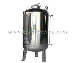 Vakuummischender Reaktor für flüssige oder flüssige Puder-Mischung
