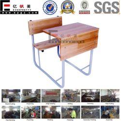 Bureau du bois de feuillus mobilier scolaire pour les étudiants salle de classe