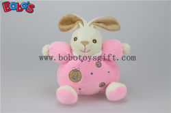 """5.9 """" Chine Plush Baby Toy Cute Soft Pink Rabbit Bunny Animals avec Ring Rattle"""