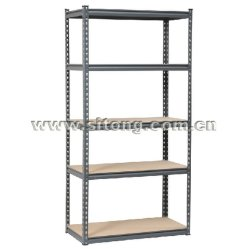 Z-Beam rivet en acier Five-Shelves verrouillé MDF Rack de stockage ou Workbench (MDF-05)