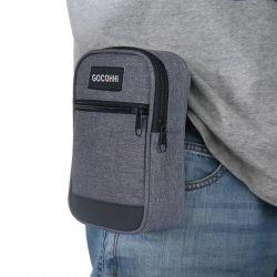 Переработанный Пэт Eco полиэстер поездки спорт зал в поход на поясе Pack карман для хранения Utility клавиш телефона молнией ремень Чехол Bag