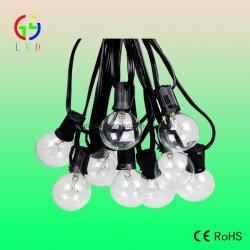 Traditionelle Birnen-Zeichenkette-Lichter des Heizfaden-G40, freie Abwechslungs-Lampen des Glas-G40/G12, Lichter des Fall-E17 für das Weihnachtsdekoration-Beleuchten