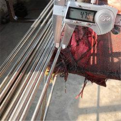 201 304 316 317 321 347 moulin en acier inoxydable rond lumineux l'extrémité fermée du tuyau de tube capillaire