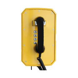 Telefono robusto di radiodiffusione della pianta del citofono del IP VoIP-SIP