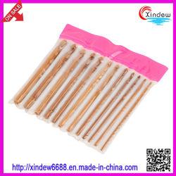 Conjunto do Gancho de croché de Bambu (XDHH agulhas de tricô-005)
