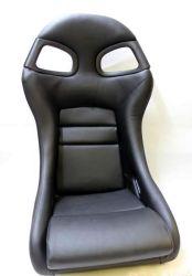 Assentos de automóvel de corridas de preto para o Porsche GT3 com plástico reforçado com fibra de carbono/
