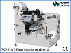 Rullo automatico di Web stretto per rotolare la stampatrice flessografica della pellicola di carta adesiva (WJRS-350)