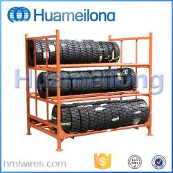 Commerce de gros Rack de stockage de pneus en métal réglable