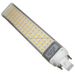 Регулируемый 5050SMD PLC G24 лампа светодиодная лампа затенения E27