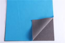 Des Punkt-100d Four-Sided weiches Shell Ausdehnungs-der Aufkleber-TPU Drei--Ein im Gewebe-im Freien Funktionsgewebe-zusammengesetzten polaren Vlies