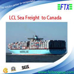 Le transport de marchandises de la mer à Calgary Edmonton Canada