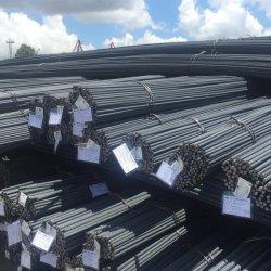 Fornecimento de materiais de construção de alta resistência à tracção laminados a quente de aço deformada Vergalhão, Haste de ferro, fio-máquina, ASTM A615 Grau 40 Grau 60 Vergalhão Steel