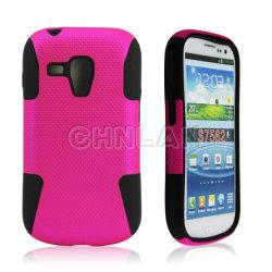 Téléphone mobile cas Combo de maillage de rêve pour Samsung Galaxy Duos de tendance S7562