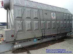Szl двойные барабаны трубки подачи воды цепочки поставок угля решетки биомассы бойлер горячей воды