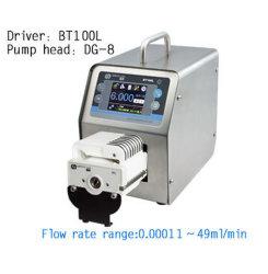 Bt100L DG10-8 (10 rouleaux, 8 canal) Commande de débit précis de gros / Pompe de dosage péristaltique intelligent de l'eau de l'industrie de la pompe de liquide de tubes de laboratoire