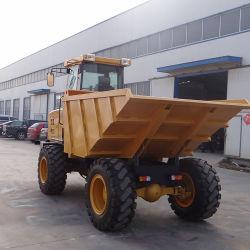 Alimentação de fábrica 7 toneladas Estaleiro Dumper para exportação