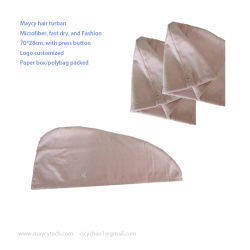 Séchage rapide en microfibre serviette sèche turban, commerce de gros Fashion sèche serviette turban, Sports serviette froide