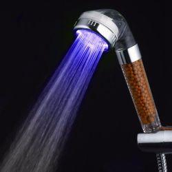 Led Light Soffione Anion Spa Bagno Portatile Doccia Testa