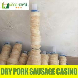 I prodotti dello strumento della carne hanno asciugato il coperchio della salsiccia della pelle degli insaccati delle intelaiature del maiale della salsiccia di Tubed