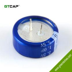 Condensateur d'or 5.5V 1f Farad Condensateurs de type C