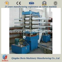 Ladrillo de caucho Prensa vulcanización Baldosa que hace la máquina